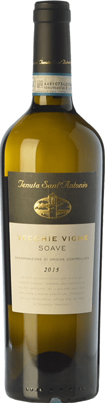 10,95 € Free Shipping | White wine Tenuta Sant'Antonio Vecchie Vigne D.O.C. Soave Veneto Italy Garganega Bottle 75 cl