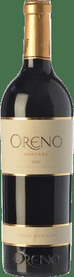 91,95 € Free Shipping   Red wine Tenuta Sette Ponti Oreno I.G.T. Toscana Tuscany Italy Merlot, Cabernet Sauvignon, Petit Verdot Bottle 75 cl
