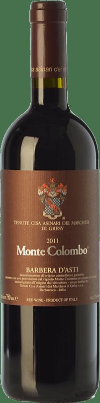 29,95 € Free Shipping   Red wine Cisa Asinari Marchesi di Grésy Asti Monte Colombo D.O.C. Barbera d'Asti Piemonte Italy Barbera Bottle 75 cl