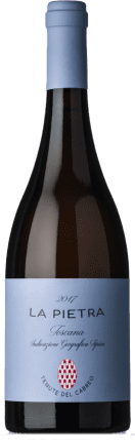 38,95 € Free Shipping   White wine Cabreo La Pietra I.G.T. Toscana Tuscany Italy Chardonnay Bottle 75 cl