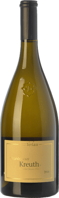 18,95 € Free Shipping | White wine Terlano Kreuth D.O.C. Alto Adige Trentino-Alto Adige Italy Chardonnay Bottle 75 cl