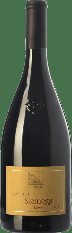 17,95 € Envoi gratuit | Vin rouge Terlano Siemegg D.O.C. Alto Adige Trentin-Haut-Adige Italie Cabernet Sauvignon Bouteille 75 cl
