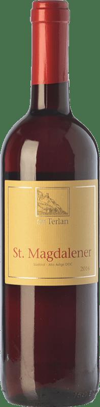 14,95 € Envoi gratuit | Vin rouge Terlano St. Magdalener D.O.C. Alto Adige Trentin-Haut-Adige Italie Lagrein, Schiava Bouteille 75 cl