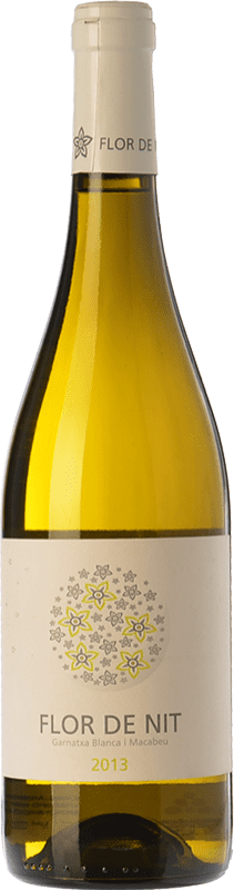 7,95 € Envío gratis | Vino blanco Terra i Vins Flor de Nit D.O. Terra Alta Cataluña España Garnacha Blanca, Macabeo Botella 75 cl