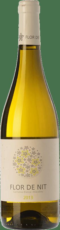 7,95 € Free Shipping | White wine Terra i Vins Flor de Nit D.O. Terra Alta Catalonia Spain Grenache White, Macabeo Bottle 75 cl