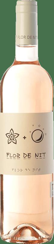 8,95 € Envío gratis | Vino rosado Terra i Vins Flor de Nit Rosat D.O. Terra Alta Cataluña España Garnacha Botella 75 cl
