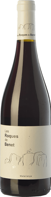 13,95 € Free Shipping | Red wine Terra i Vins Roques de Benet Crianza I.G.P. Vino de la Tierra Bajo Aragón Aragon Spain Syrah, Grenache, Cabernet Sauvignon Bottle 75 cl