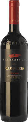 33,95 € Free Shipping | Red wine Terrabianca Campaccio I.G.T. Toscana Tuscany Italy Cabernet Sauvignon, Sangiovese Bottle 75 cl