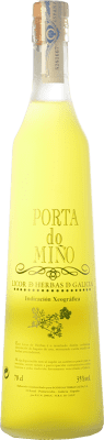 17,95 € Free Shipping | Herbal liqueur Terras Gauda Porta do Miño D.O. Orujo de Galicia Galicia Spain Bottle 70 cl