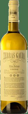 12,95 € Envío gratis | Vino blanco Terras Gauda D.O. Rías Baixas Galicia España Loureiro, Albariño, Caíño Blanco Botella 75 cl