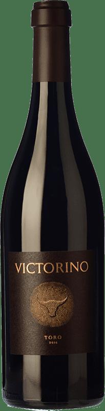 77,95 € Kostenloser Versand | Rotwein Teso La Monja Victorino Crianza D.O. Toro Kastilien und León Spanien Tinta de Toro Magnum-Flasche 1,5 L