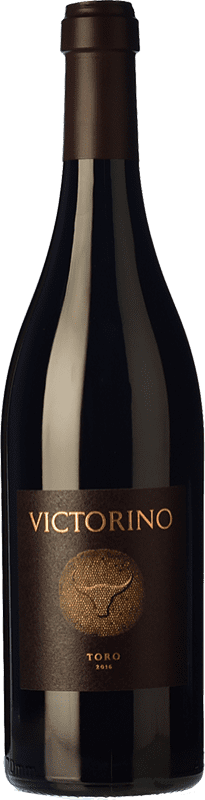 85,95 € Spedizione Gratuita | Vino rosso Teso La Monja Victorino Crianza D.O. Toro Castilla y León Spagna Tinta de Toro Bottiglia Magnum 1,5 L
