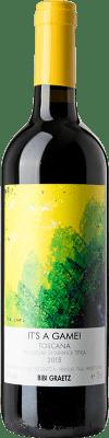 17,95 € Free Shipping | Red wine Bibi Graetz It's a Game I.G.T. Toscana Tuscany Italy Merlot, Syrah, Cabernet Franc Bottle 75 cl