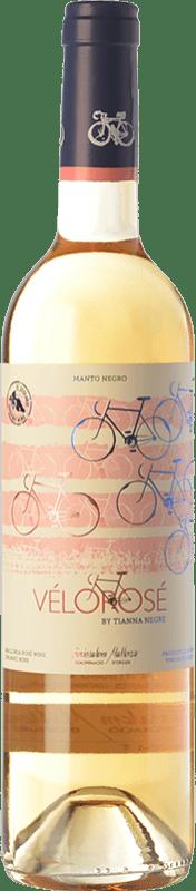14,95 € Free Shipping | Rosé wine Tianna Negre Vélorosé D.O. Binissalem Balearic Islands Spain Mantonegro Bottle 75 cl