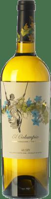 9,95 € Kostenloser Versand | Weißwein Tianna Negre Ses Nines El Columpio Blanc D.O. Binissalem Balearen Spanien Muscat, Chardonnay, Sauvignon Weiß, Premsal, Giró Ros Flasche 75 cl