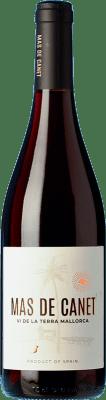6,95 € Envío gratis | Vino tinto Tianna Negre Ses Nines Mas de Canet Joven D.O. Binissalem Islas Baleares España Merlot, Syrah, Callet, Mantonegro Botella 75 cl