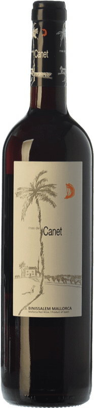 6,95 € Free Shipping | Red wine Tianna Negre Ses Nines Mas de Canet Joven D.O. Binissalem Balearic Islands Spain Merlot, Syrah, Callet, Mantonegro Bottle 75 cl