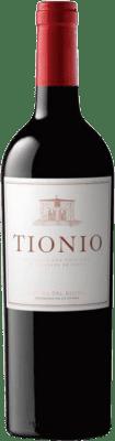 15,95 € Free Shipping | Red wine Tionio Crianza D.O. Ribera del Duero Castilla y León Spain Tempranillo Bottle 75 cl