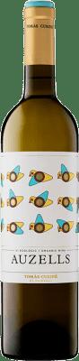 9,95 € Free Shipping | White wine Tomàs Cusiné Auzells Crianza D.O. Costers del Segre Catalonia Spain Viognier, Macabeo, Chardonnay, Sauvignon White, Muscatel Small Grain, Müller-Thurgau Bottle 75 cl