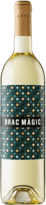 9,95 € Free Shipping | White wine Tomàs Cusiné Drac Màgic Blanc D.O. Catalunya Catalonia Spain Viognier, Macabeo, Sauvignon White Bottle 75 cl