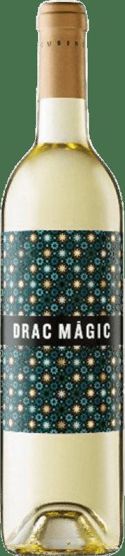 6,95 € Free Shipping | White wine Tomàs Cusiné Drac Màgic Blanc D.O. Catalunya Catalonia Spain Viognier, Macabeo, Sauvignon White Bottle 75 cl