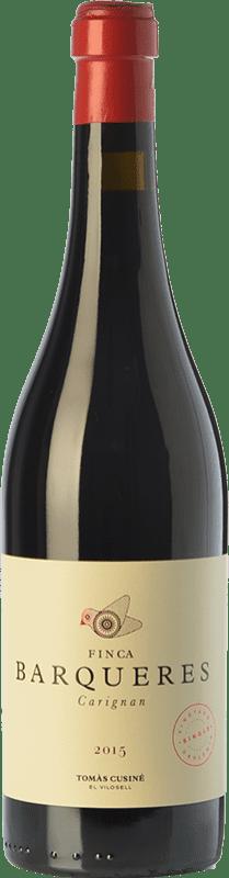 22,95 € Envío gratis   Vino tinto Tomàs Cusiné Finca Barqueres Crianza D.O. Costers del Segre Cataluña España Cariñena Botella 75 cl