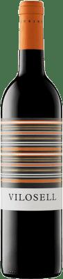 11,95 € Free Shipping | Red wine Tomàs Cusiné Vilosell Crianza D.O. Costers del Segre Catalonia Spain Tempranillo, Merlot, Syrah, Grenache, Cabernet Sauvignon Bottle 75 cl