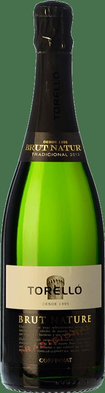 35,95 € Kostenloser Versand | Weißer Sekt Torelló Brut Natur Gran Reserva D.O. Cava Katalonien Spanien Macabeo, Xarel·lo, Parellada Magnum-Flasche 1,5 L
