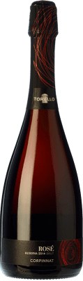 15,95 € Free Shipping | Rosé sparkling Torelló Rosé Brut Reserva D.O. Cava Catalonia Spain Grenache, Monastrell Bottle 75 cl
