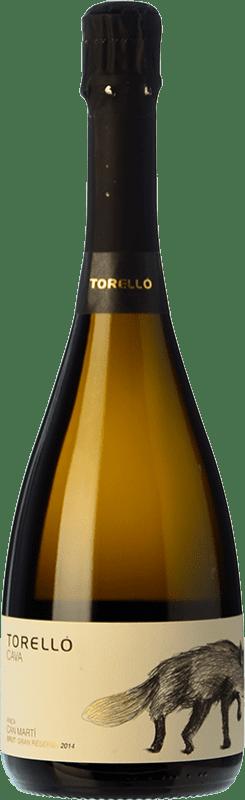 19,95 € Free Shipping | White sparkling Torelló Finca Can Martí Brut Gran Reserva D.O. Cava Catalonia Spain Macabeo, Xarel·lo, Chardonnay, Parellada Bottle 75 cl