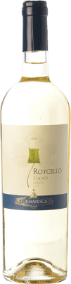9,95 € Free Shipping | White wine Tormaresca Roycello I.G.T. Salento Campania Italy Fiano Bottle 75 cl