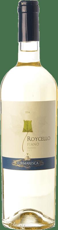 9,95 € Envío gratis | Vino blanco Tormaresca Roycello I.G.T. Salento Campania Italia Fiano Botella 75 cl