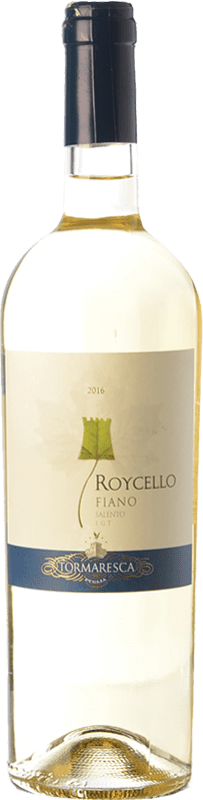 9,95 € Free Shipping | White wine Tormaresca Roycello I.G.T. Salento Campania Italy Fiano Bottle 75 cl