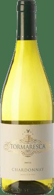 9,95 € Envío gratis | Vino blanco Tormaresca I.G.T. Puglia Puglia Italia Chardonnay Botella 75 cl