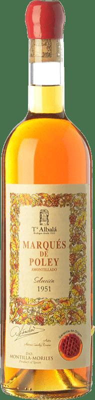 146,95 € Free Shipping | Fortified wine Toro Albalá Marqués Poley Amontillado Selección 1951 D.O. Montilla-Moriles Andalusia Spain Pedro Ximénez Bottle 75 cl