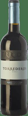 7,95 € Envoi gratuit | Vin rouge Torrederos Roble D.O. Ribera del Duero Castille et Leon Espagne Tempranillo Bouteille 75 cl