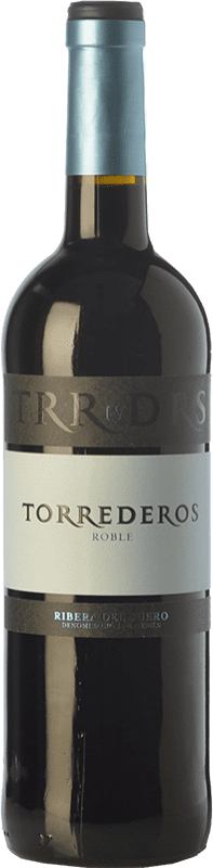 7,95 € Free Shipping   Red wine Torrederos Roble D.O. Ribera del Duero Castilla y León Spain Tempranillo Bottle 75 cl