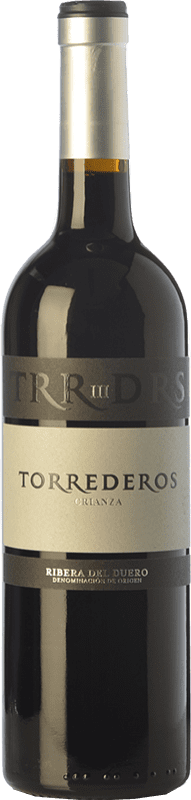 11,95 € Free Shipping   Red wine Torrederos Crianza D.O. Ribera del Duero Castilla y León Spain Tempranillo Bottle 75 cl