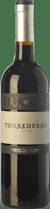 11,95 € Envoi gratuit | Vin rouge Torrederos Crianza D.O. Ribera del Duero Castille et Leon Espagne Tempranillo Bouteille 75 cl