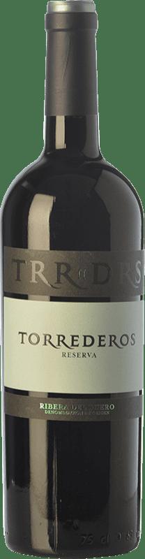 16,95 € Envoi gratuit | Vin rouge Torrederos Reserva D.O. Ribera del Duero Castille et Leon Espagne Tempranillo Bouteille 75 cl