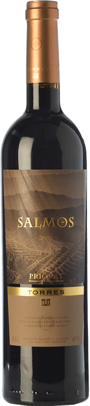 23,95 € Free Shipping | Red wine Torres Salmos Crianza D.O.Ca. Priorat Catalonia Spain Syrah, Grenache, Carignan Bottle 75 cl