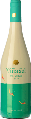 7,95 € Free Shipping | White wine Torres Viña Sol D.O. Penedès Catalonia Spain Parellada Bottle 75 cl