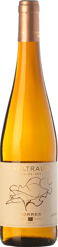 19,95 € Free Shipping | White wine Torres Waltraud D.O. Penedès Catalonia Spain Riesling Bottle 75 cl