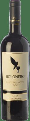 8,95 € Free Shipping | Red wine Torrevento Bolonero D.O.C. Castel del Monte Puglia Italy Aglianico, Nero di Troia Bottle 75 cl