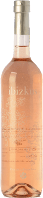 16,95 € Kostenloser Versand | Rosé-Wein Totem Ibizkus I.G.P. Vi de la Terra de Ibiza Balearen Spanien Tempranillo, Syrah, Monastrell Flasche 75 cl