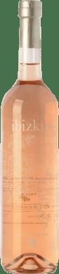 16,95 € Envío gratis | Vino rosado Totem Ibizkus I.G.P. Vi de la Terra de Ibiza Islas Baleares España Tempranillo, Syrah, Monastrell Botella 75 cl