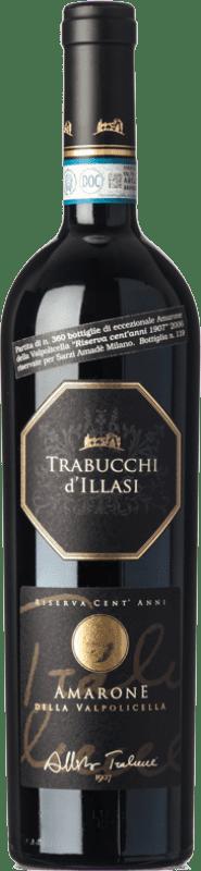 73,95 € Free Shipping   Red wine Trabucchi Riserva Cent'Anni Reserva 2006 D.O.C.G. Amarone della Valpolicella Veneto Italy Corvina, Rondinella, Corvinone, Oseleta Bottle 75 cl