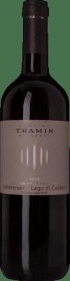 11,95 € Free Shipping | Red wine Tramin Classico Superiore D.O.C. Lago di Caldaro Trentino Italy Schiava Gentile Bottle 75 cl