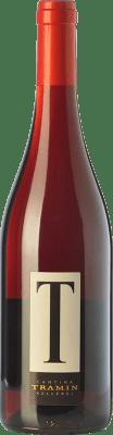 9,95 € Free Shipping | Red wine Tramin T Rosso I.G.T. Vigneti delle Dolomiti Trentino Italy Merlot, Pinot Black, Lagrein Bottle 75 cl