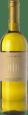 13,95 € Free Shipping | Sweet wine Tramin D.O.C. Alto Adige Trentino-Alto Adige Italy Muscatel Giallo Bottle 75 cl